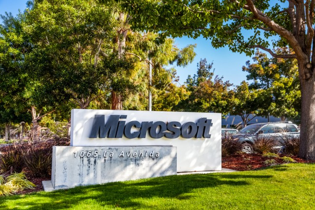 Microsoft sign in California Silicon Valley