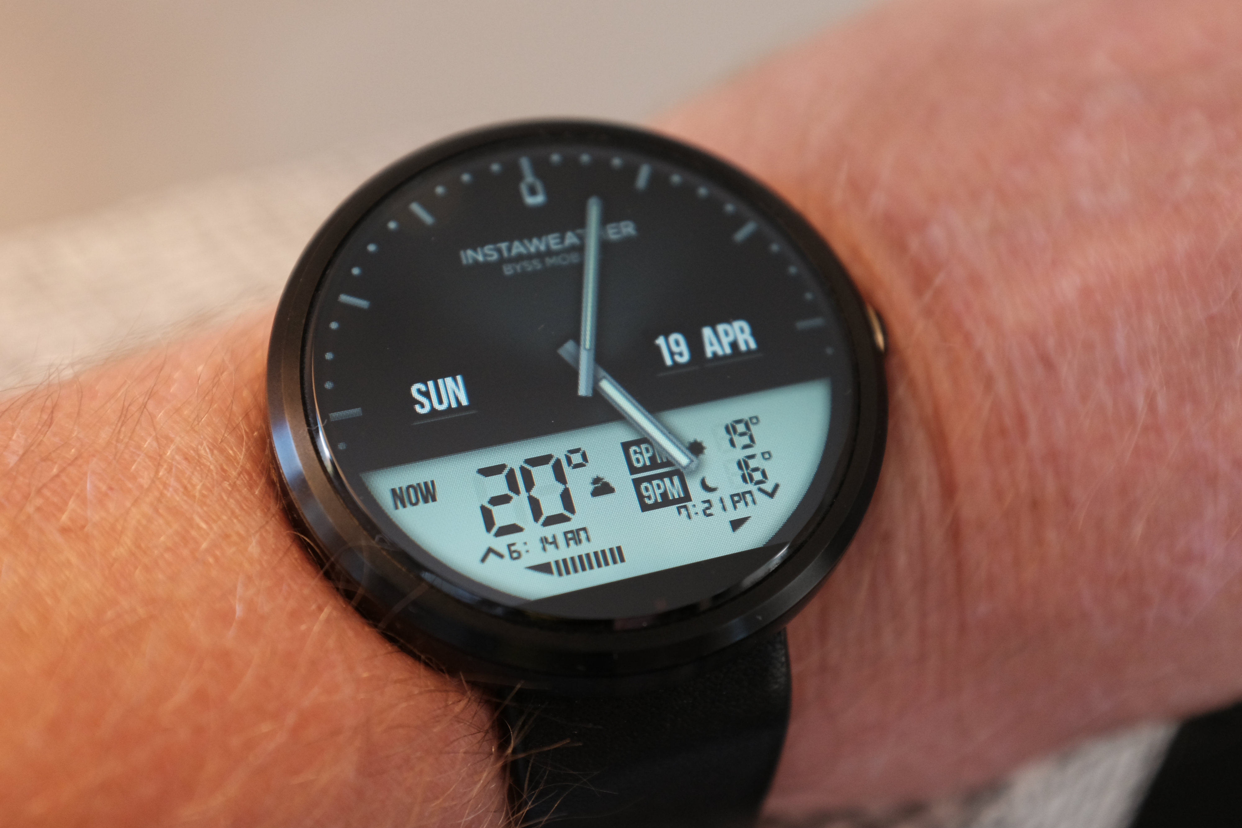 Faces for moto 360 - Moto 360 Watch Face