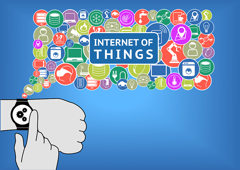 Wearable internet of things