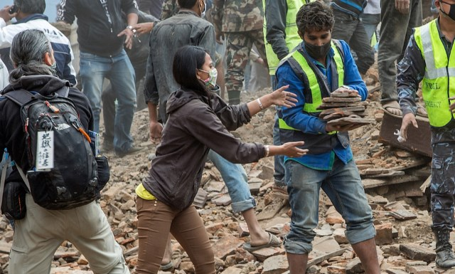 How technology helps Nepal relief efforts