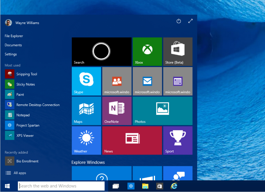 how to select what open at start up windows 10