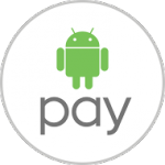 The Google I/O logo for Android Pay