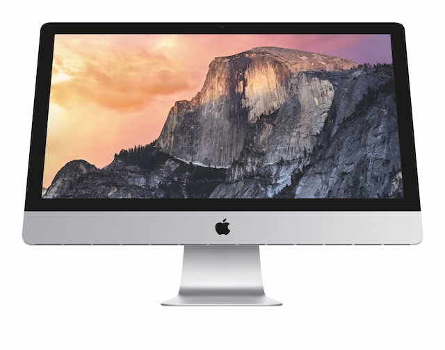 May 2015 base 27-inch iMac with Retina 5K display