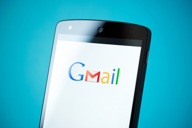 Gmail app logo on Google Nexus 5