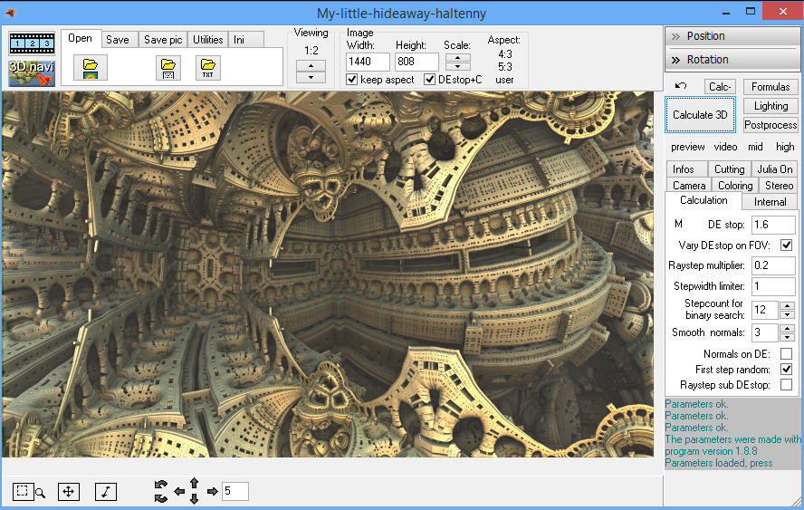 Generate Amazing Fractal Art With Mandelbulb 3d