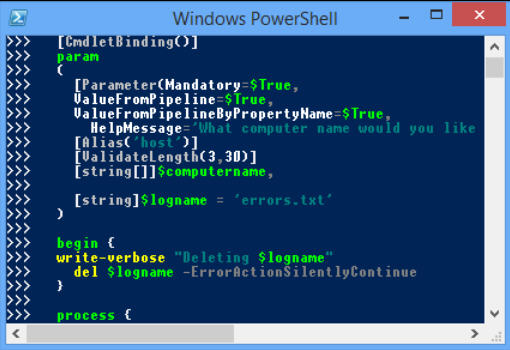 Extend PowerShell's command line with PSReadLine