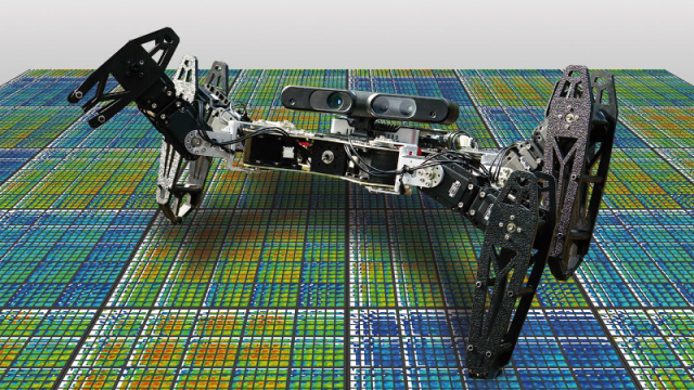 Pierre and Marie Curie University and University of Wymoning-developed robot adapting to injury