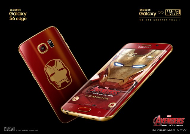 Samsung Galaxy S6 edge Iron Man-themed limited edition