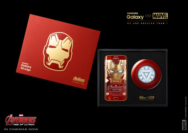 Unboxed Samsung Galaxy S6 edge Iron Man limited edition