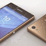 Waterproof credentials of Sony Xperia Z3+ shown in Copper Gold