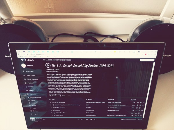 Tidal on Chromebook LS