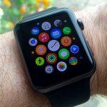 Apple Watch Sport on wrist