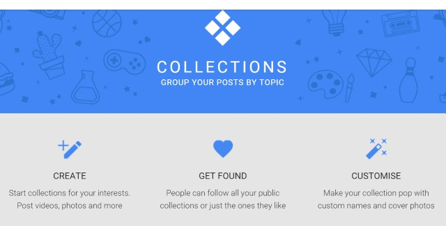 Google+ Collections lets users curate posts, Pinterest-style