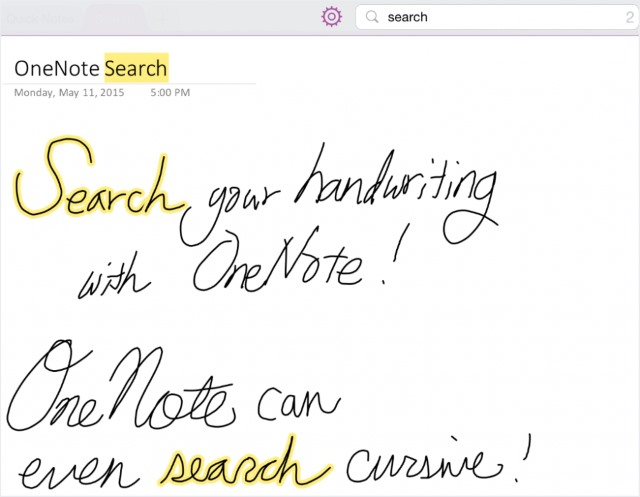 Eat up Martha! Microsoft slings handwriting recog into OneNote on Android