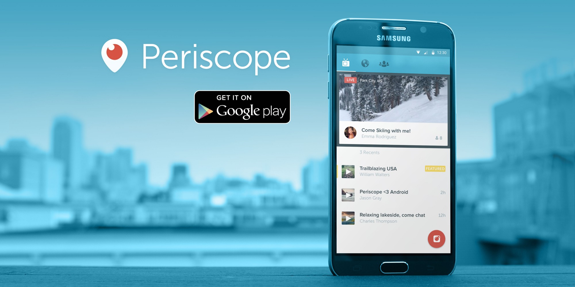 Twitter releases Periscope for Android