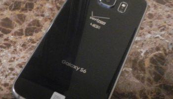 Samsung Galaxy S6 Verizon black