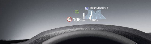 BMW Head up display