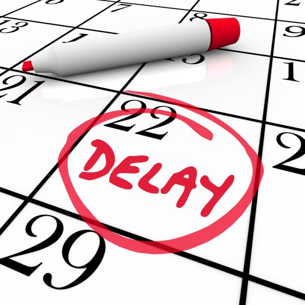 Calendar delay