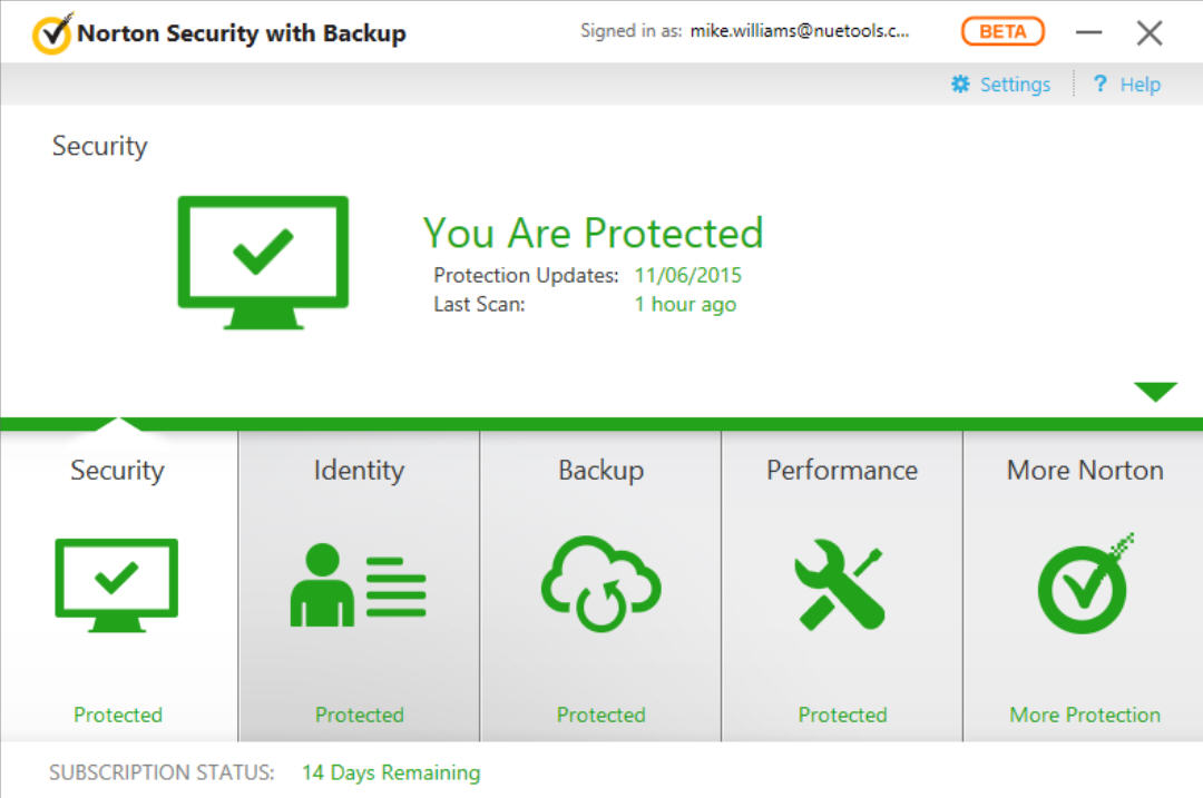 Why norton antivirus doesn't work in windows 10 insider builds.
