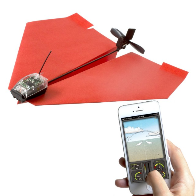 PowerUp 3.0 Smartphone Controlled Paper-Airplane
