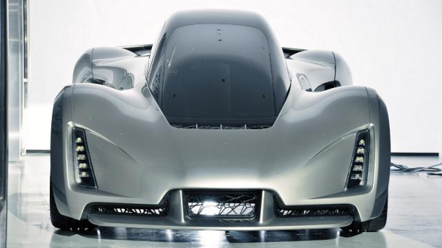 The Blade 3D-printed supercar