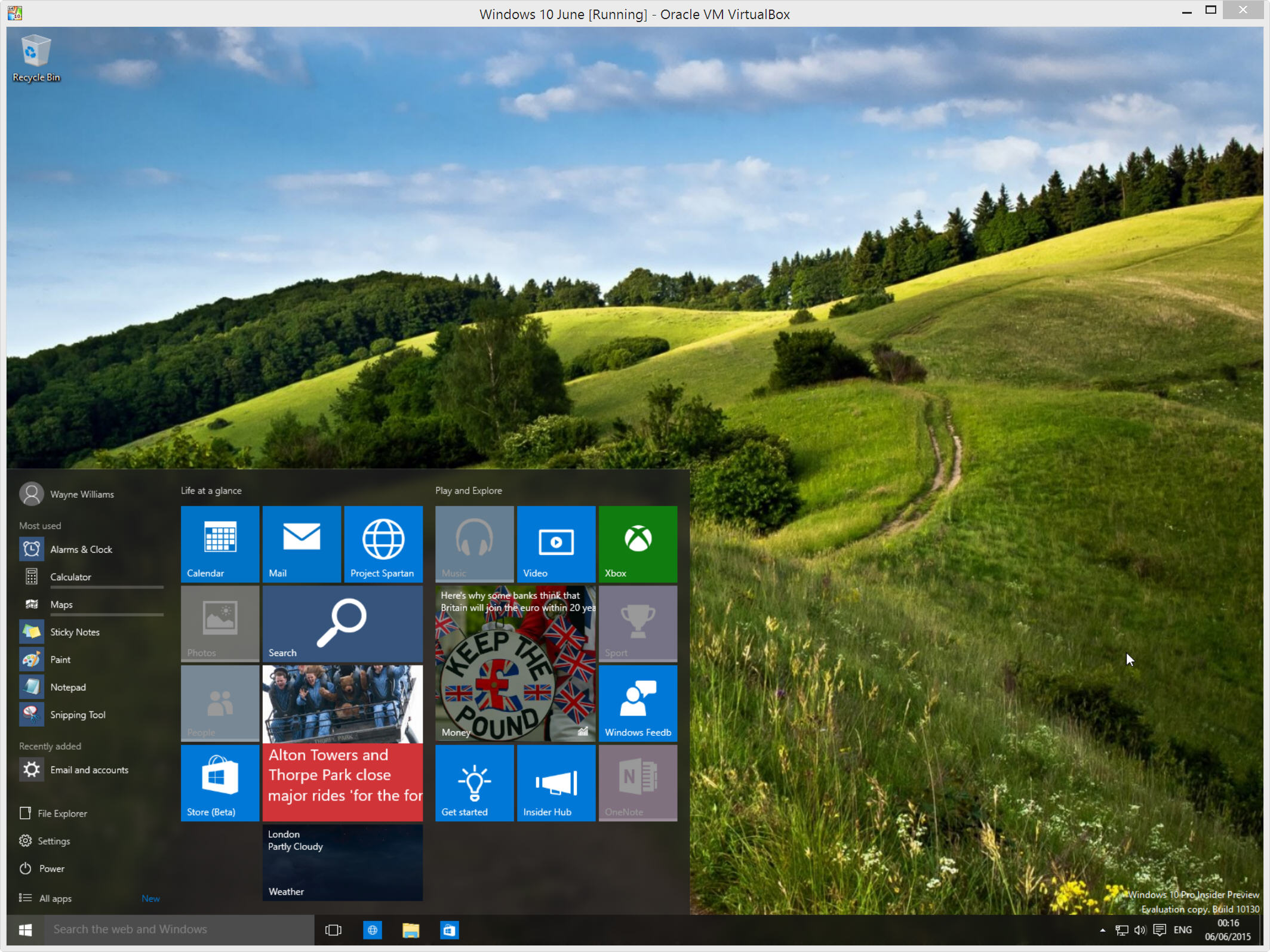 How to install Windows 10 Insider Preview on Oracle VirtualBox [Updated]