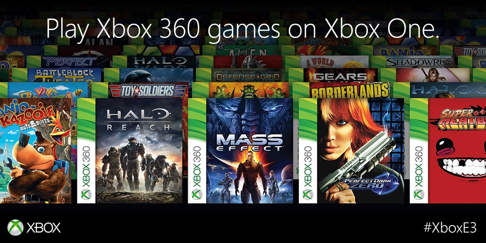 Xbox One gets backwards compatibility, will play over 100 Xbox 360 ...