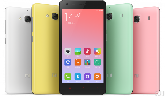 Xiaomi Redmi 2A color options