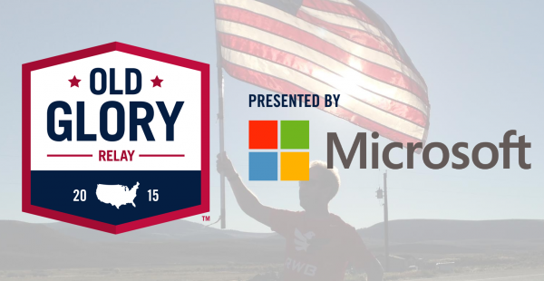 microsoft celebrates usa veterans with old glory relay sponsorship