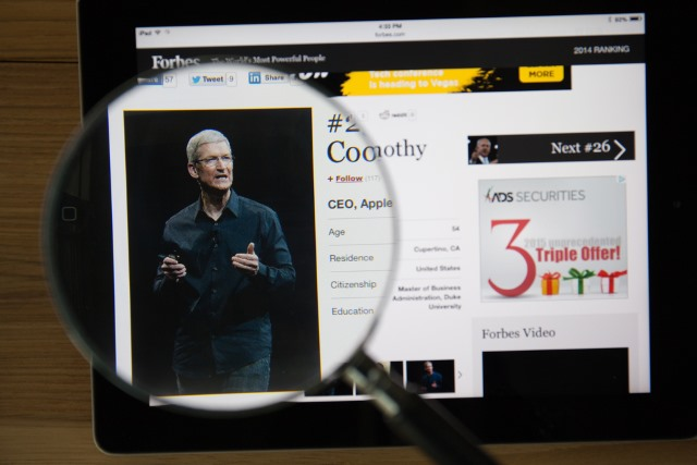 Tim Cook lashes out at the government, Facebook and Google over privacy