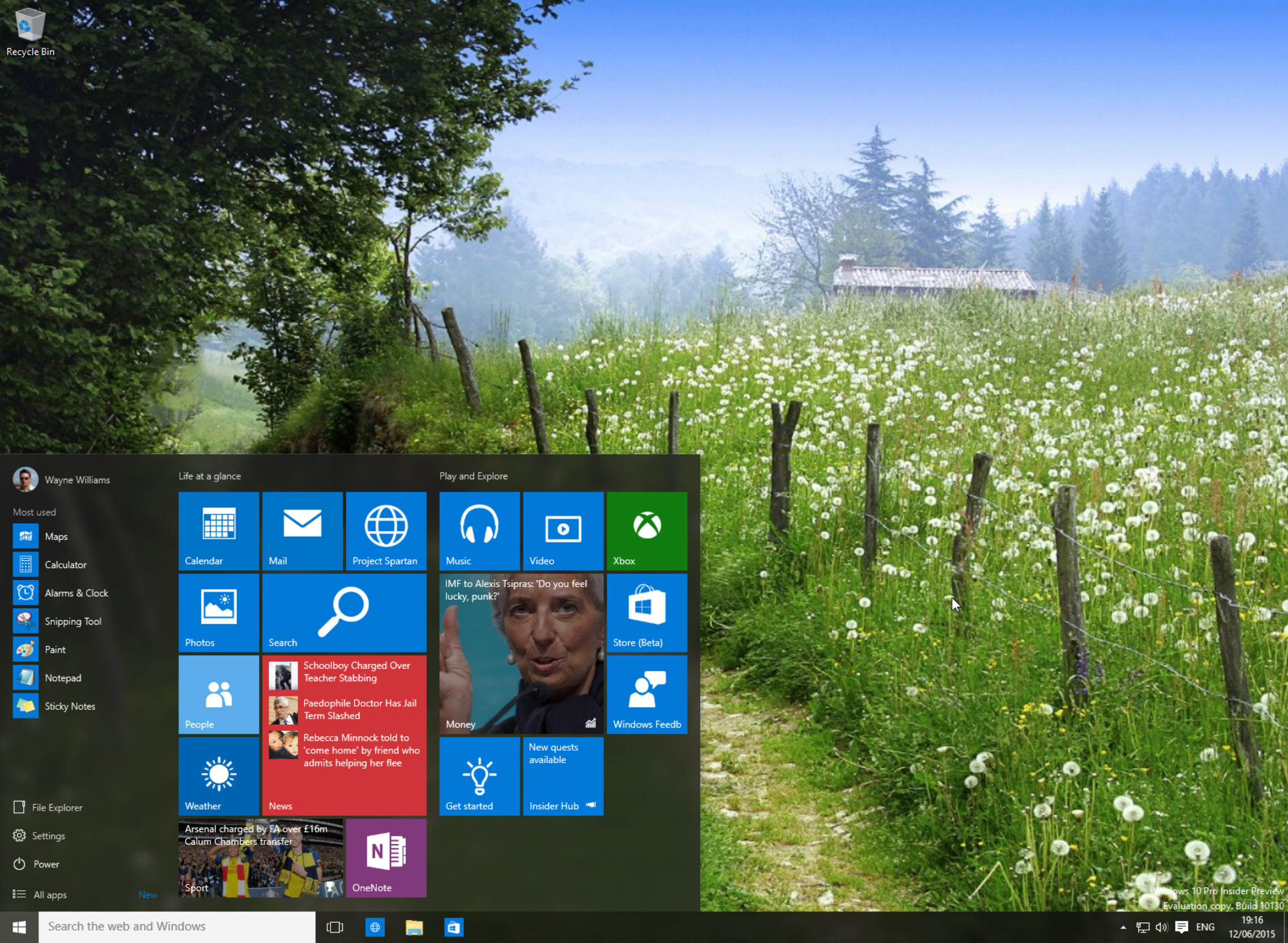 Windows 10 Insider Preview Build 10130 now available to download on