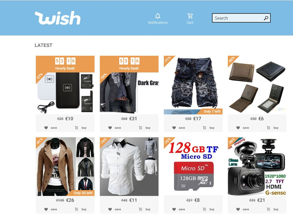 Find latest wish promo code & coupons for December Get free shipping + 90% discount on wish shopping made fun app using our discount codes. Both first time & existing wish customers can redeem these promotional codes for extra savings.