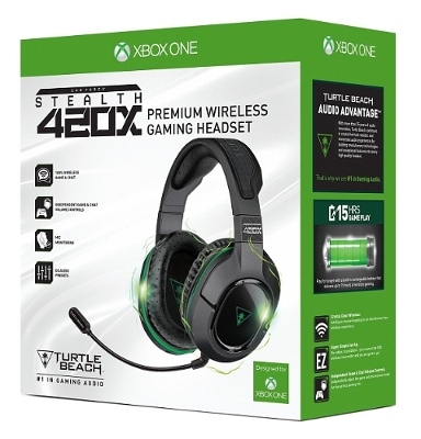 Turtle Beach Ear Force Stealth 420X Xbox One Headset coming soon