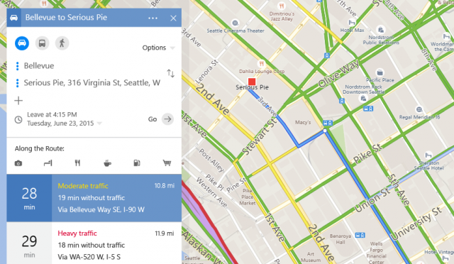Bing Maps Major Redesign Directions