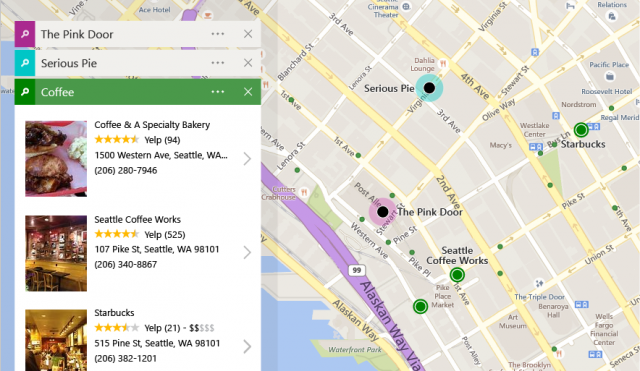 Bing Maps Major Redesign User Interface