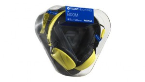 Coloud Boom Nokia Headphones in yellow