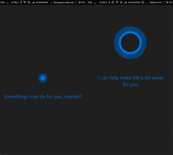 Cortana for Android II
