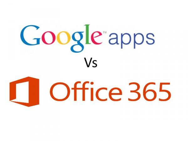 Google Apps v Office 365