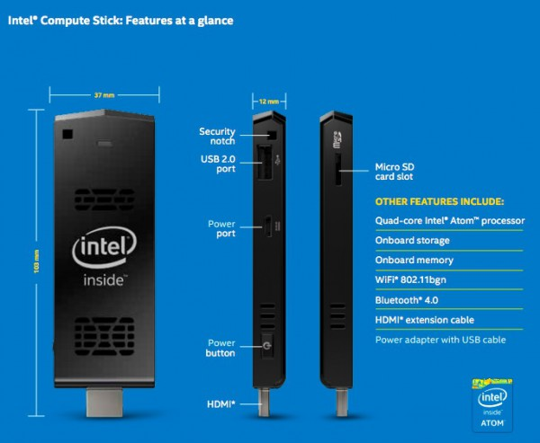 Intel Compute Stick Review How Does The 150 Rs 9 999