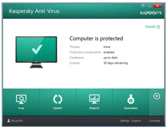 Kaspersky 2016 Adds Private Browsing Change Control