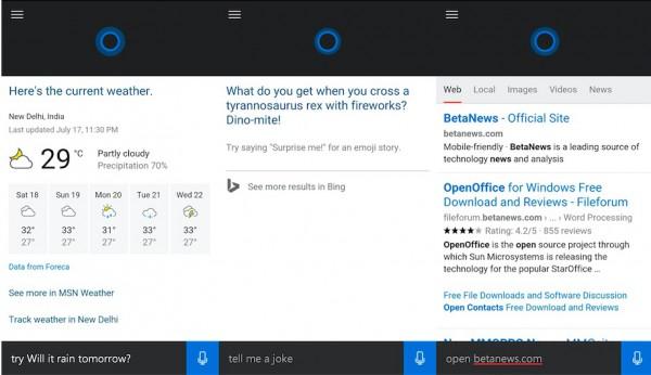 Microsoft Cortana for Android I