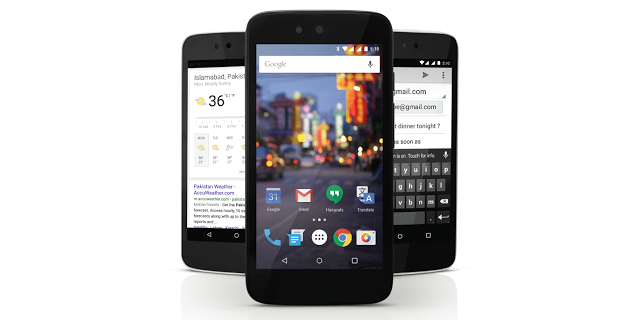 QMobile A1 Android One Pakistan