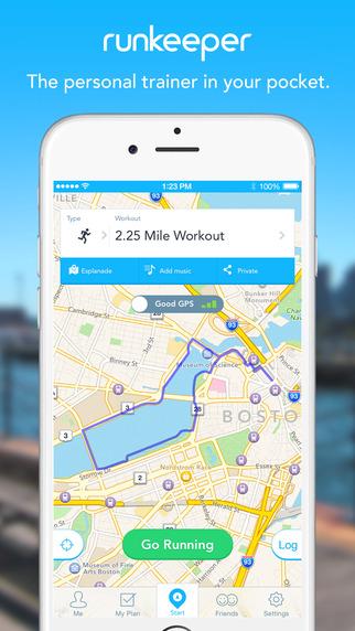 Runkeeper iOS iPhone