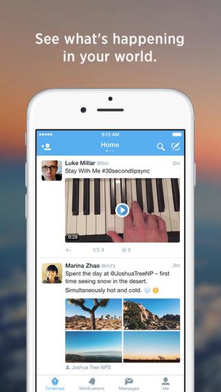 Twitter iOS iPhone