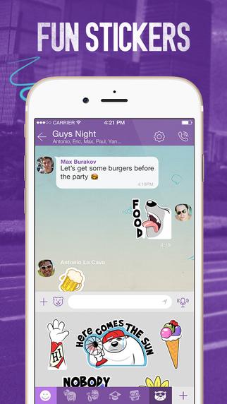 Viber iOS iPhone
