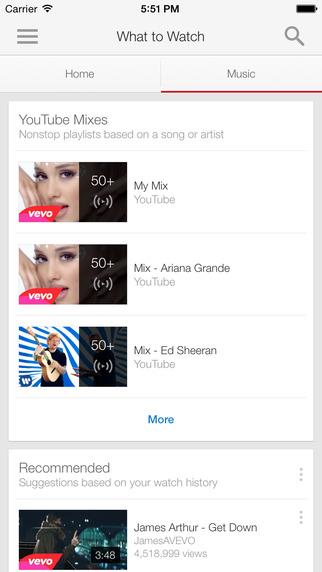 YouTube iOS iPhone