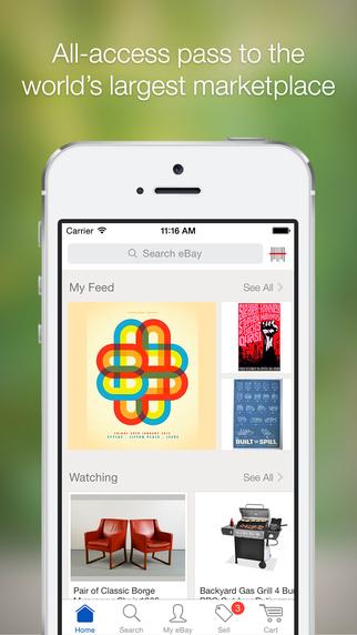 eBay iOS iPhone