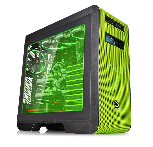 Thermaltake goes green with Core V51 Riing Edition Mid-Tower