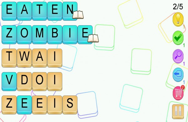 Reshuffle  Words  Letters And  Letters