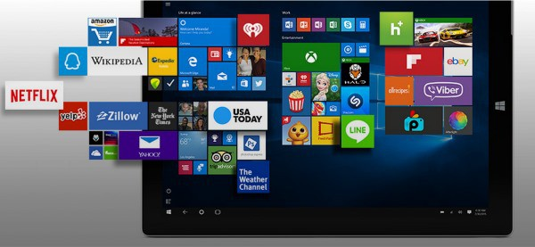 Microsoft launches universal app store for Windows 10 [Update